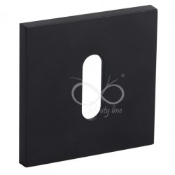 Rozeta kwadrat RYQ S B01 klucz czarna