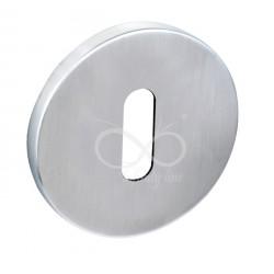 Rozeta okrągła RCC M701 klucz chrom matowy