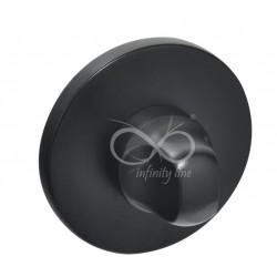 Blokada WC okrągła RCC S B03 czarna