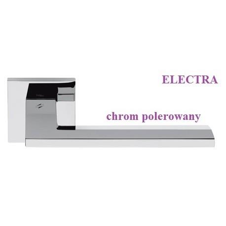 Klamka ELECTRA Colombo szyld kwadratowy chrom polerowany