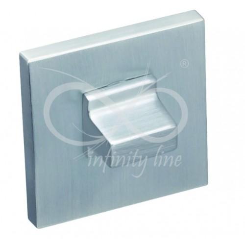 Blokada WC RFQ M703 FIT chrom matowy kwadrat