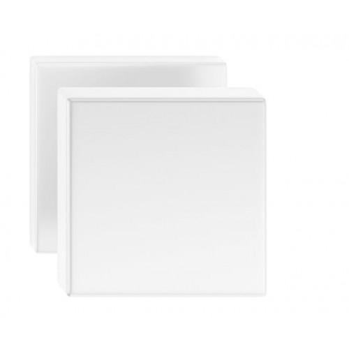 Gałka AEGIS kwadrat biała