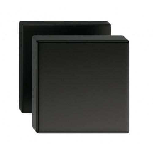 Gałka AEGIS kwadrat czarna