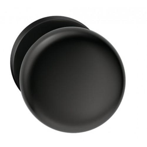 Gałka ORBIS okrągła czarna