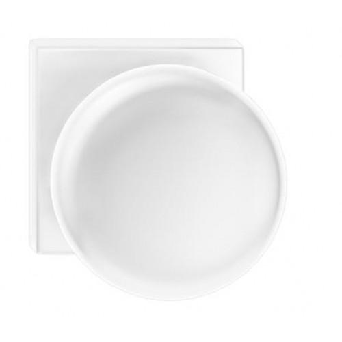 Gałka ORBIS kwadrat biała