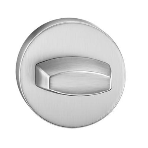 Blokada WC okrągła chrom szczotkowany