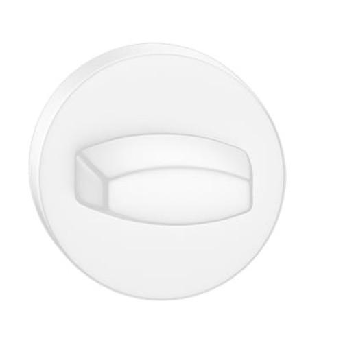 Blokada WC okrągła biała