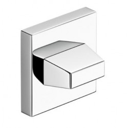 Blokada WC kwadrat chrom