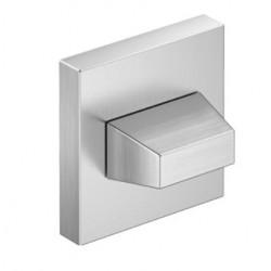 Blokada WC kwadrat chrom szczotkowany