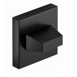 Blokada WC kwadrat czarna