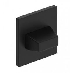 Blokada WC kwadrat SLIM czarna