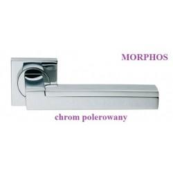 Klamka MORPHOS Manital szyld kwadratowy chrom polerowany