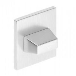 Blokada WC kwadrat SLIM chrom szczotkowany