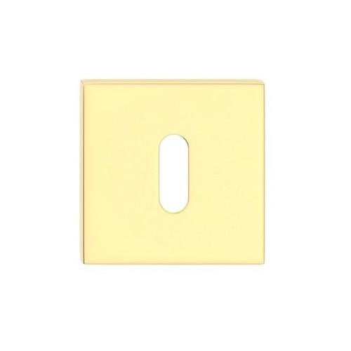 Rozeta kwadrat SLIM na klucz złoty