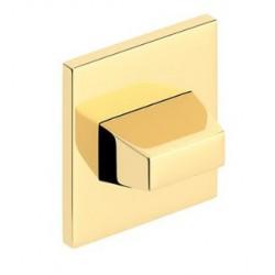 Blokada WC kwadrat SLIM złoty