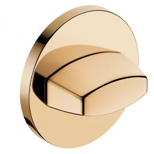Blokada WC okrągła SLIM złoty
