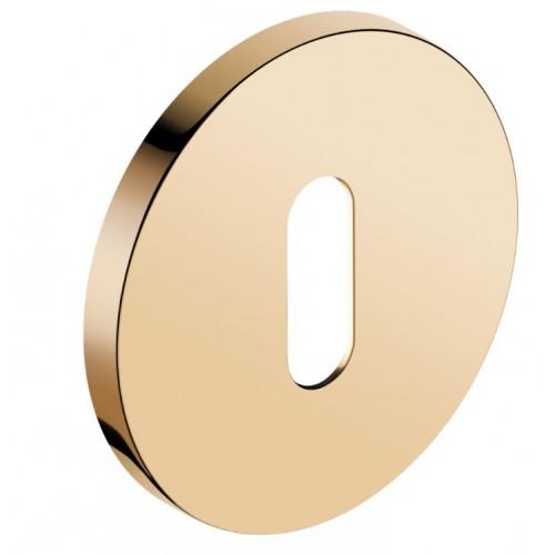 Rozeta okrągła SLIM na klucz złoty