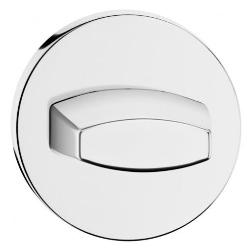 Blokada WC okrągła SLIM chrom