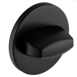Blokada WC okrągła SLIM czarna