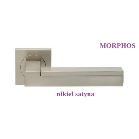 Klamka MORPHOS Manital szyld kwadratowy nikiel satyna