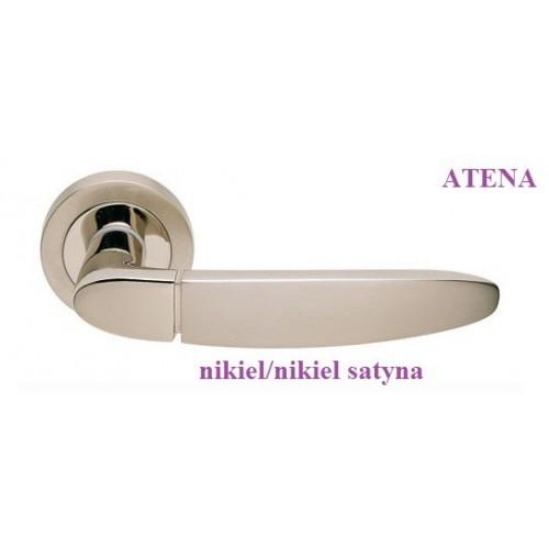 Klamka ATENA Manital nikiel-nikiel satyna