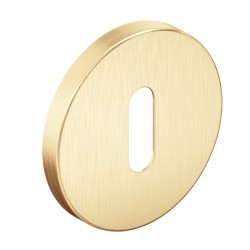 Rozeta okrągła SLIM na klucz złoty mat