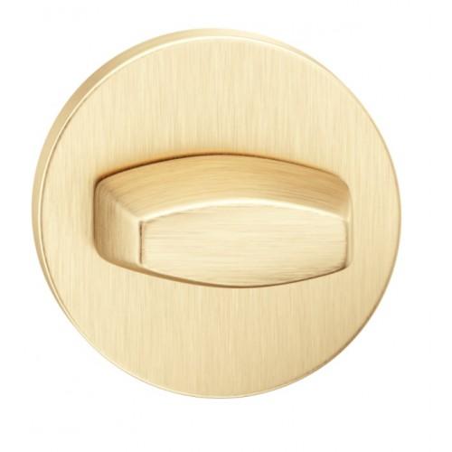 Blokada WC okrągła SLIM złoty mat