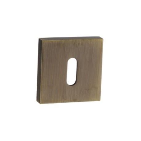 Rozeta kwadratowa RGQ 401 patyna na klucz